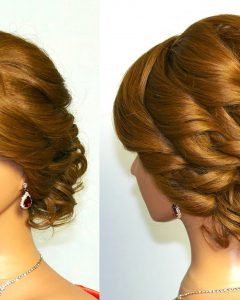 Curly Updo Hairstyles For Medium Hair