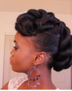 Updos For African American Natural Hair
