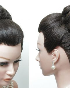 Related About High Messy Bun Wedding Hairstyles