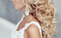 Beach Wedding Hairstyles for Long Curly Hair