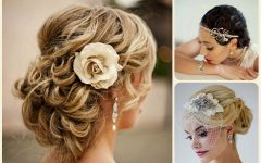 Bridal Updos for Curly Hair