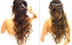 Curls Down Wedding Hairstyles