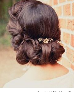 Roll Hairstyles For Wedding