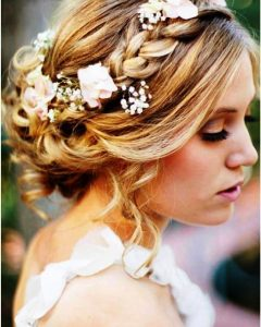 Wedding Updos Shoulder Length Hairstyles