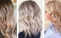 Golden Bronze Blonde Hairstyles