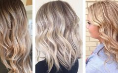 Creamy Blonde Fade Hairstyles