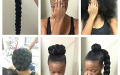 Updo Hairstyles with Weave