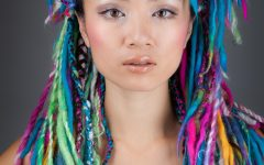 Colorful Yarn Braid Hairstyles