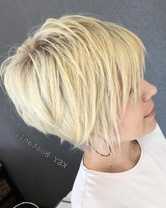 Finely Chopped Buttery Blonde Pixie Hairstyles