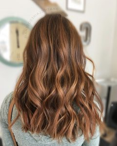 Warm-Toned Brown Hairstyles With Caramel Balayage