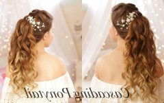 Cascading Ponytail Hairstyles