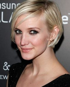 Ashlee Simpson Graduated Bob Hairstyles