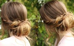Chignon Updo Hairstyles