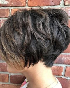 Piece-Y Pixie Haircuts With Subtle Balayage