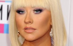 Christina Aguilera Shoulder Length Bob Hairstyles