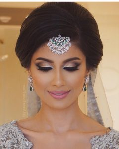 Indian Wedding Updo Hairstyles
