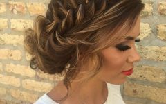 Braided Bun Hairstyles with Puffy Crown
