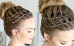 High Waterfall Braid Hairstyles
