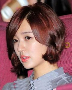 Trendy Korean Short Hairstyles