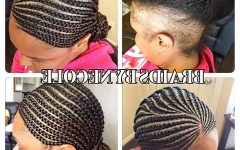 Cornrows Hairstyles for Thin Edges