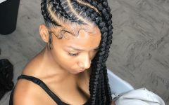 Cornrows Hairstyles with Braids