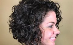Naturally Curly Bob Hairstyles