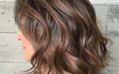 Medium Haircuts for Wavy Hair