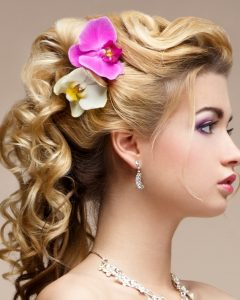 Loose Updos For Curly Hair