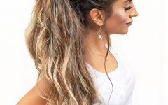 Artistically Undone Braid Ponytail Hairstyles