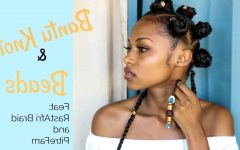 Bantu Knots And Beads Hairstyles