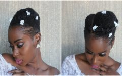 Bridal Hairstyles for Short Afro Hair