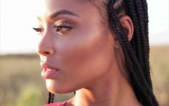 Cornrows Hairstyles for Round Faces