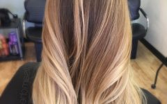Dark Roots Blonde Hairstyles with Honey Highlights