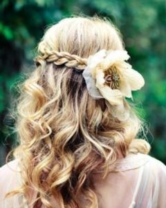 Diy Wedding Hairstyles For Shoulder Length Hair
