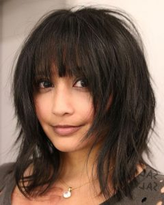 Fun Razored Shag Haircuts For Straight Hair