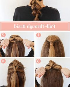 Intricate And Adorable French Braid Ponytail Hairstyles