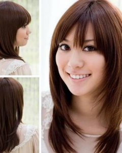 Korean Shaggy Hairstyles