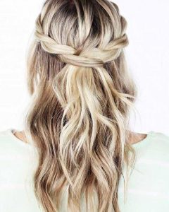 Long Hairstyles Bridesmaids