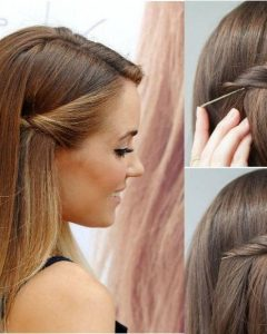 Long Hairstyles with Bobby Pins