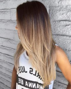 Long Layered Ombre Hairstyles