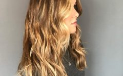 Long Wavy Chopped Hairstyles