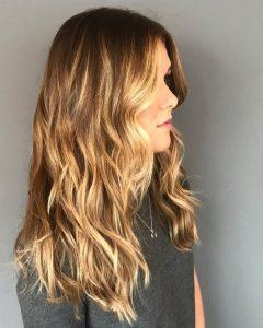 Long Wavy Chopped Hairstyles