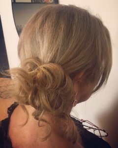 Low Messy Bun Hairstyles For Mother Of The Bride