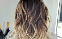 Ombre Medium Hairstyles