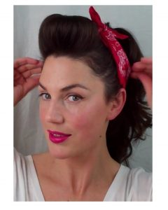 Quick Vintage Hollywood Ponytail Hairstyles