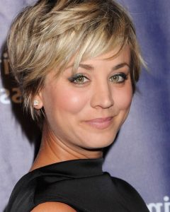 Short Shaggy Hairstyles for Round Faces
