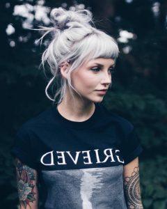 Silver Bettie Blonde Hairstyles
