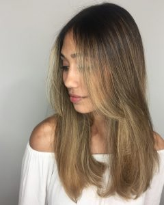Sleek Straight Layered Haircuts