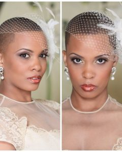 Wedding Hairstyle For Short African Hair