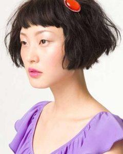 Short Haircuts for Voluminous Hair